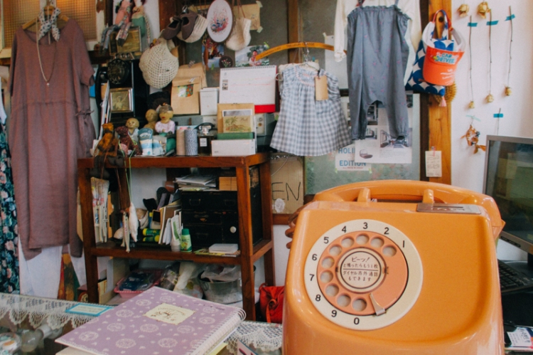 Store in Korea with vintage style