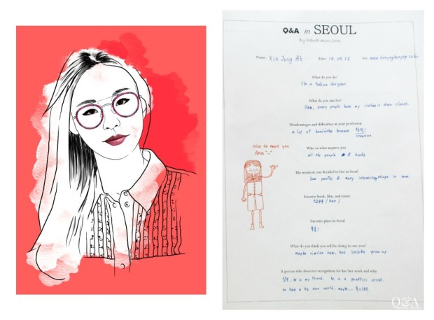 xin jung ah Collage