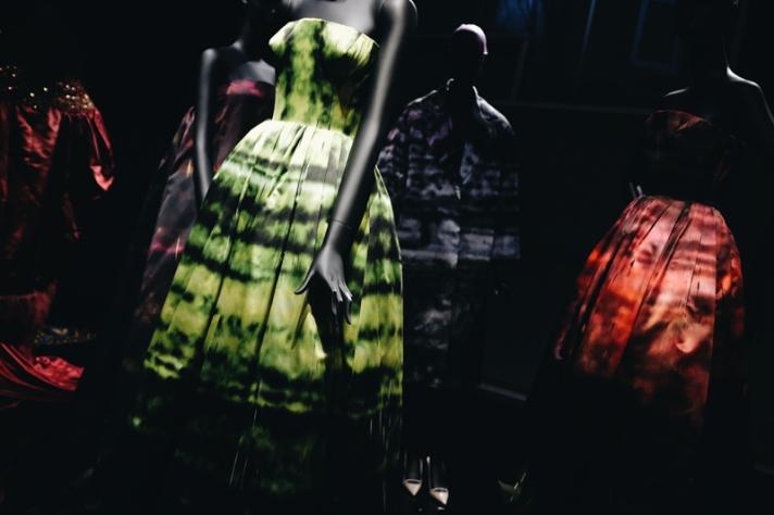 Dior dresses in Seoul